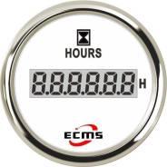 Счетчик моточасов ECMS цифровой (нерж/бел)