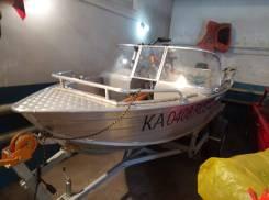 Продам катер Wyatboat WB-430 с телегой
