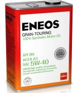 Eneos Gran Touring. 5W-40, синтетическое, 4,00л.