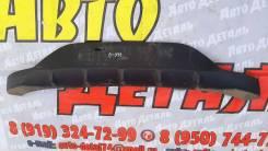 Накладка Спойлер заднего бампера Kia Rio 3 HB 2015. Kia Rio, QB, UB D3FA, D4FC, G4FA, G4FC, G4FD, G4FG, G4LA