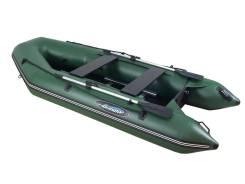 Моторно-гребная лодка ПВХ Gladiator А340ТК с фанерным полом