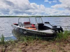 Лодка WindBoat 45 DCX с мотором Mercury ME 30 E