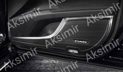 Накладки на карманы дверей Toyota Camry V70