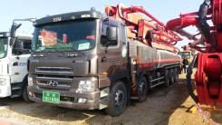 Hyundai Trago. Бетононасос KCP58ZX высотой подачи 58 метров, базе 2011, 12 344куб. см., 58,00м. Под заказ