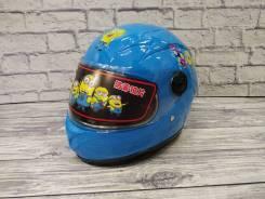 Детский Мото Шлем ( Губка Боб) . Отправка по РФ