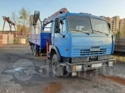 КамАЗ 65117. Продаётся Камаз 65117 с гидроманипулятором в Красноярске, 11 150куб. см., 15 500кг., 6x4