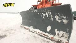 Отвал снежный для экскаватор погрузчик Амкодор