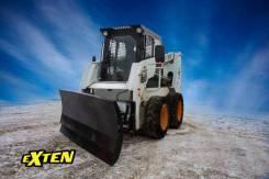 Отвал снежный на мини погрузчик John Deere Джон Дир