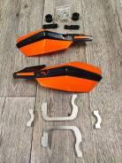 Лопухи, защита для рук на руль оранжевые