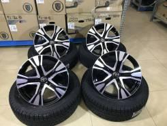 "225/65R17 Yokohama G075 новая зима 2019 г. с новыми дисками на Toyota. 7.0x17"" 5x114.30 ET39 ЦО 60,1мм."