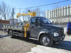 ГАЗ ГАЗон Next C41R33. КМУ Газон NEXT (C41R33) + Soosan SCS335, 4x2