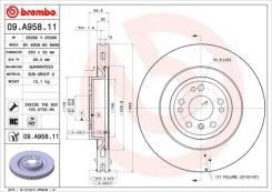 Диск тормозной передний Brembo09A95811