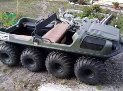 Вездеход Argo - Аvenger 8х8