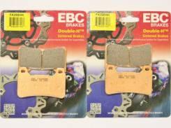 Колодки тормозные EBC FA390HH CBR600RR VFR800 CB1000RR (ПАРА)