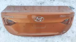 Крышка багажника. Hyundai Solaris, HCR G4FG, G4LC