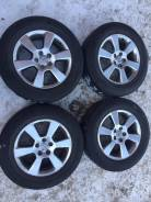 "=Original= R17 Toyota Harrier Диски + лето Bridgestone 225/65/17. 6.5x17"" 5x114.30 ET35"