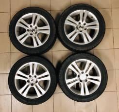 """Комплект летних колёс 225/50R17. 7.0x17"""" 5x114.30 ET55 ЦО 64,1мм."""