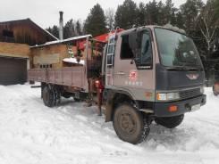 Hino Ranger. Продается грузовик с манипулятором, 7 412куб. см., 8 000кг., 4x4