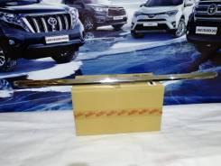Toyota LC 200 хром юбки бампера Executive