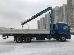 Ford Cargo. -14 тонн, с КМУ-4,5 тонны, Специальный, 7 400куб. см., 14 000кг., 6x2