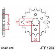 Звезда ведущая JT JTF1263.15 XT225 Serow