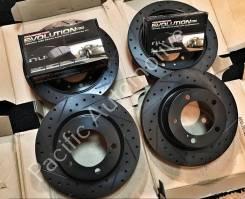 Перфорированные тормозные диски для Toyota LC200 / LX570 + колодки
