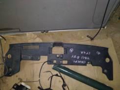 Дефлектор радиатора верхний. Mitsubishi Lancer, CX1A, CX2A, CX3A, CX4A, CX5A, CX8A, CX9A, CY1A, CY2A, CY3A, CY4A, CY5A, CY8A, CY9A 4A91, 4A92, 4B10, 4...