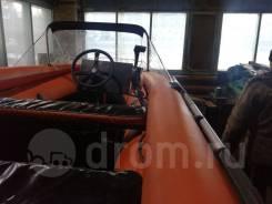 Продается моторная надувная лодка Solar - 420 Jet в Усть-Илимске