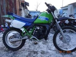 Kawasaki KMX200. 200куб. см., исправен, птс, без пробега