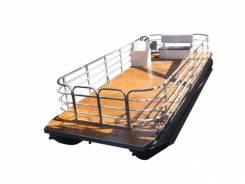 Катер понтонный грузопассажирский, понтон, понтонная лодка