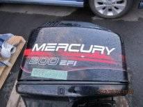 Mercury. 200,00л.с., 2-тактный, бензиновый, нога L (508 мм), 1999 год