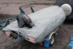 Чехол (тент транспортировочный) для надувной лодки, РИБа длиной 390 см