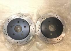 Тормозной диск вентилируемый с перфорацией и слотами Tayga