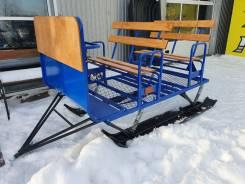 Сани для буксировки снегоходом
