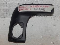 Накладка заднего бампера правая Renault Kangoo KW0 2008