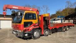 Nissan Diesel. Продам эвакуатор Сороконога низкорамник Nissan diesel, 17 000куб. см., 15 000кг., 8x4