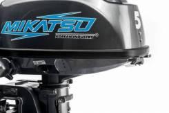 Лодочный мотор Mikatsu M5FHS + Внешний Топливный БАК 12Л
