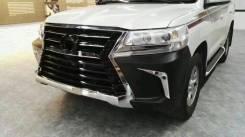 Рестайлинг обвес Toyota Land Cruiser 200 2016 в стиль Lexus LX570