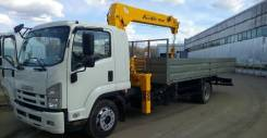Soosan SCS514. Бортовой автомобиль Isuzu Forward 12 тонн FSR34 с КМУ , 8 000 куб. см., 8 000 кг., 4x2