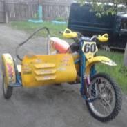 Кроссовый мотоцикл с коляской, 2007
