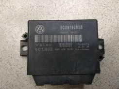 Блок управления парктроником Passat [B6] (2005>)