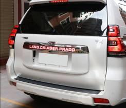Накладка на дверь багажника. Toyota Land Cruiser Prado, GDJ150L, GDJ150W, GDJ151W, GRJ150L, TRJ150L, TRJ150W 1GDFTV, 1GRFE, 2TRFE