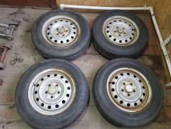 Летние колеса Dunlop Grandtrek PT3 + Диски Honda R15 5x114.3