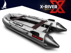 Надувная лодка X-River Grace 300 НДНД, грациозная и легкая, пр-во Россия