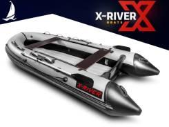 Надувная лодка X-River Grace 380 НДНД, грациозная и легкая, пр-во Россия