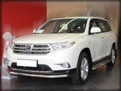 Защита переднего бампера Toyota Highlander 2010-2013 d-60