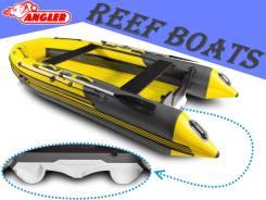 Надувная лодка Angler Reef 400 SCAT, самая просторная лодка, тримаран