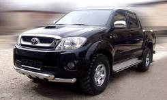 Защита переднего бампера Toyota Hilux 2010-2015 d-76