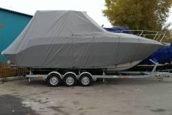 Тент стояночный на катер разных размеров