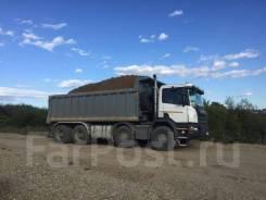 Услуги самосвалов Scania, Volvo, Hino, вместимость кузовов 18-27 куб.